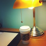 Dreary morning at the office- at least there's caffeine (Taken with instagram)