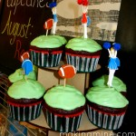 tailgate cupcakes for 12 months of cupcakes