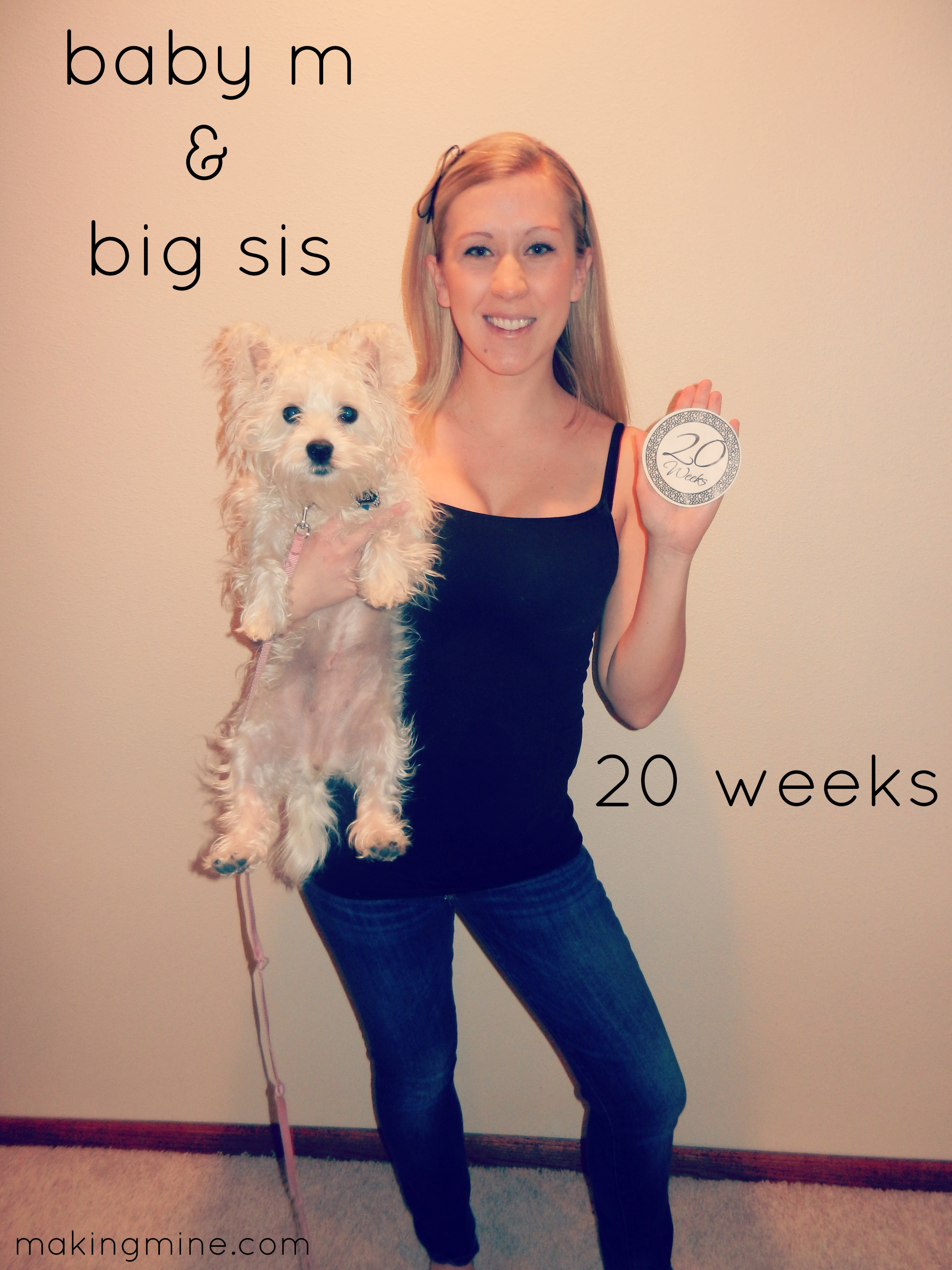 weeks pregnant with baby m