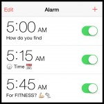 finding time for fitness