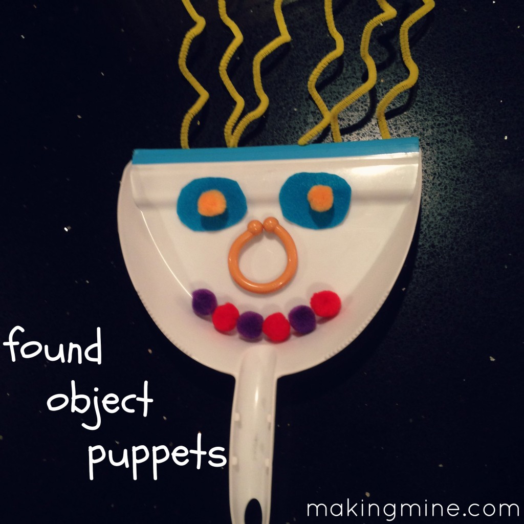 found object puppet