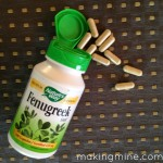 breastfeeding fenugreek