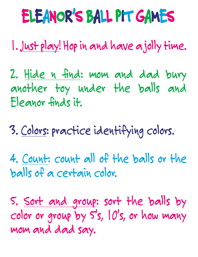 build your own ball pit