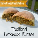 traditional homemade runzas