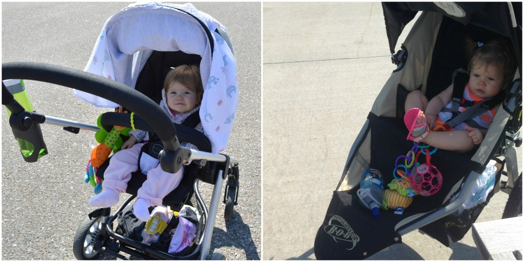 finding the right stroller for baby