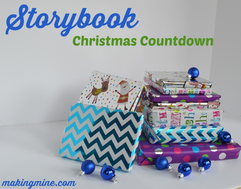 storybook christmas countdown