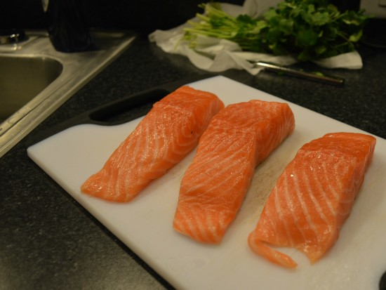 three cooks one kitchen salmon
