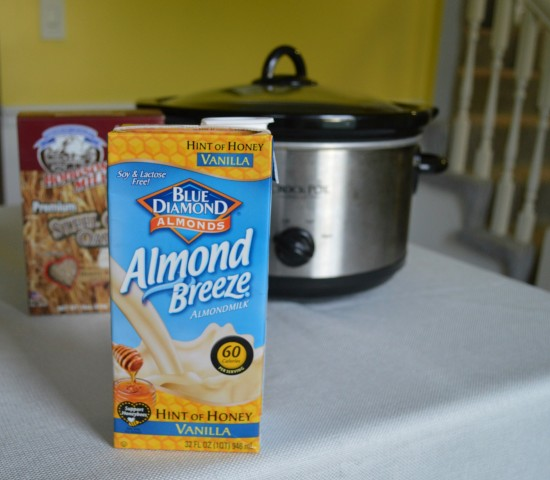 almond breeze vanilla almond milk