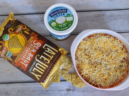 stonyfield yogurt mexican layer dip