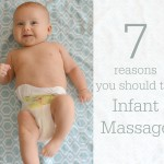 7 reasons you should try infant massage