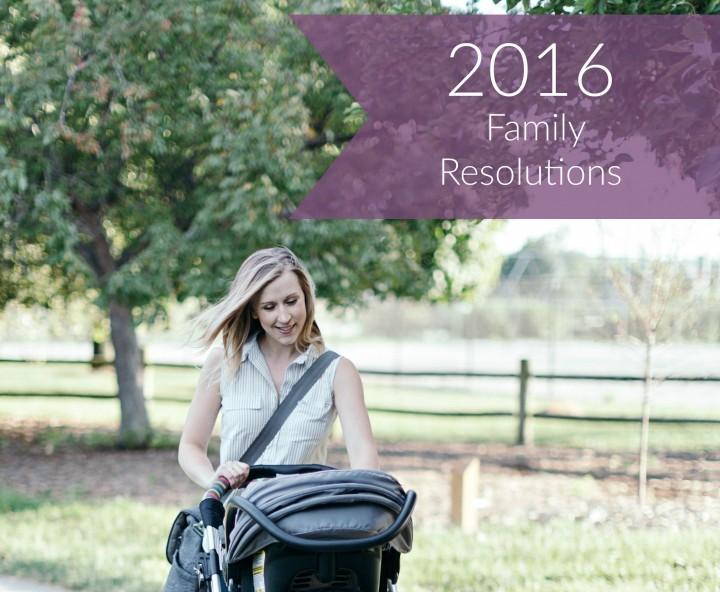 2016 family resolutions