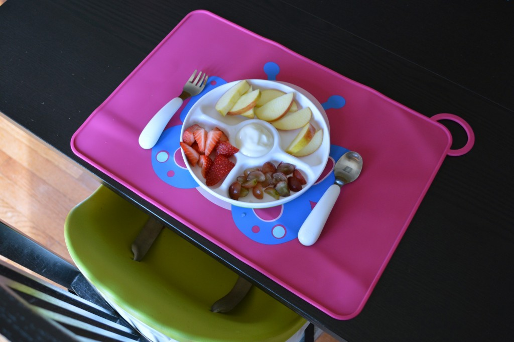 toddler tasting tray
