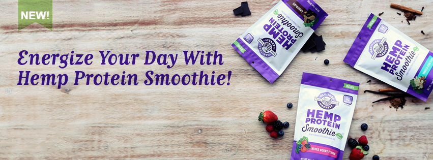 Energize Your Day With Our Hemp Protein Smoothie