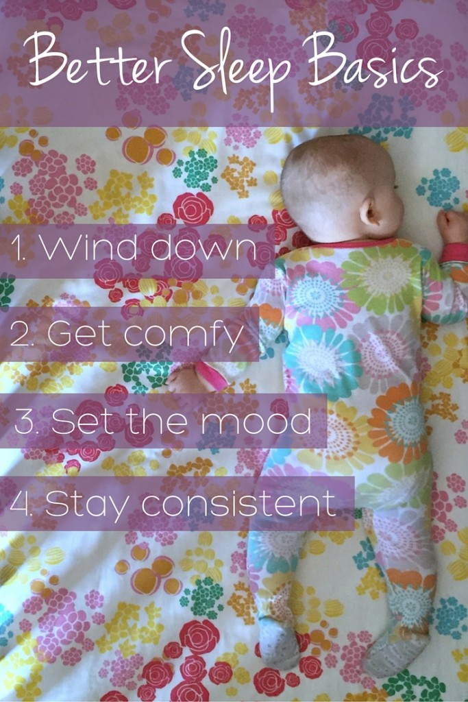 4 Tips for Helping Baby Sleep Better