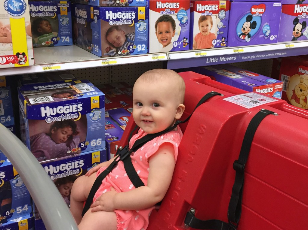 Huggies OverNite's keep baby's skin dry and healthy all night