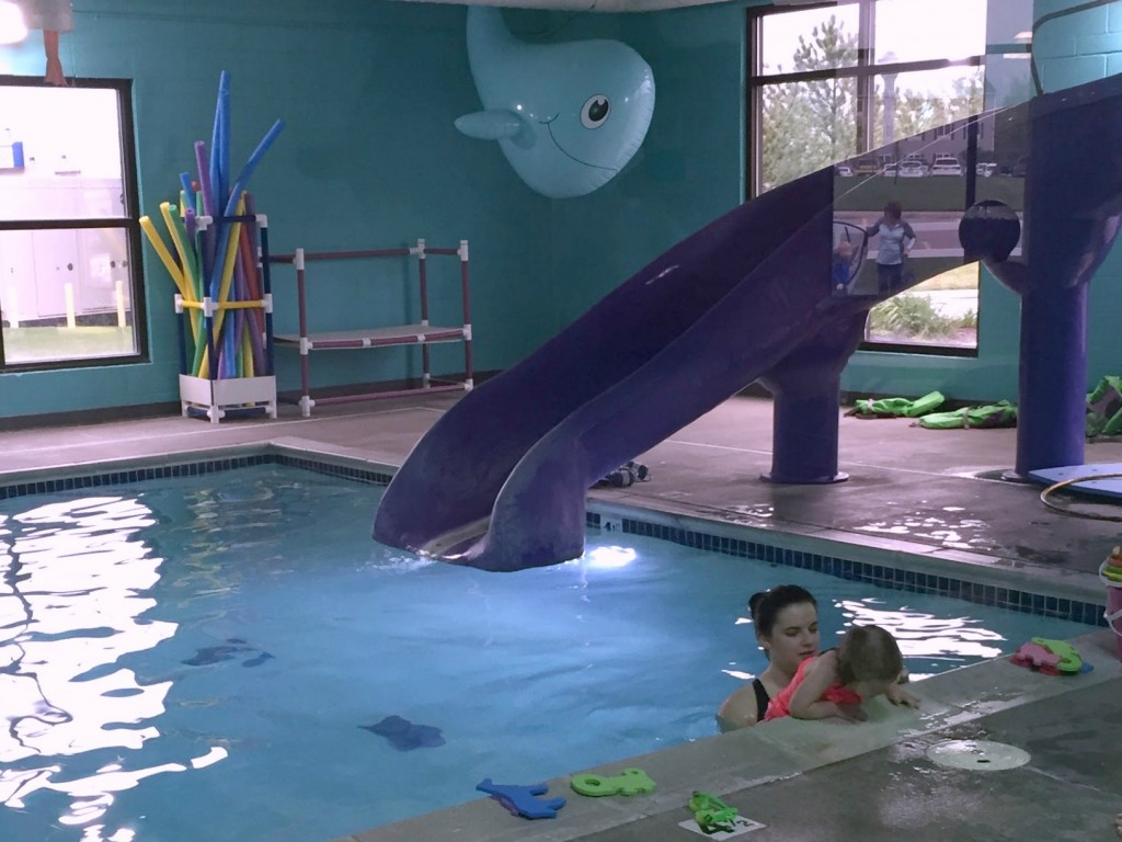 Water safety skills at Swimtastic