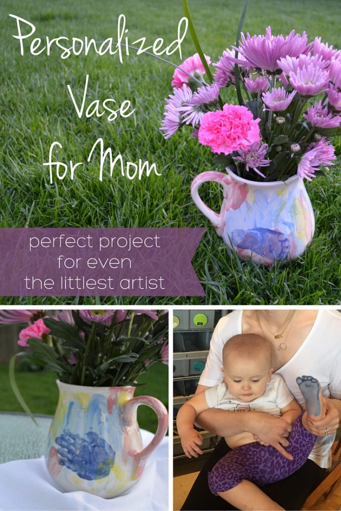 Gift Idea: Personalized Vase for Mom