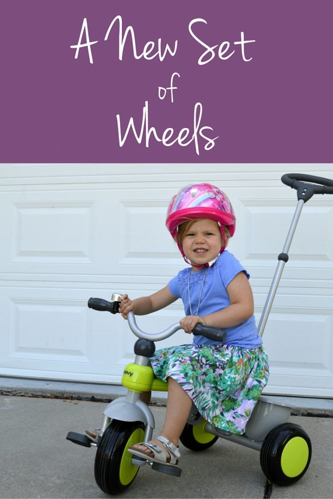 A New Set of Wheels with the Joovy Tricycoo from buybuy BABY