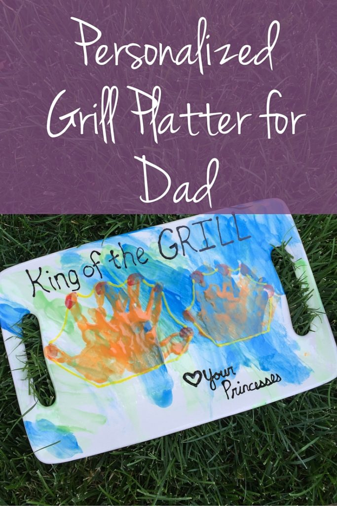 Gift idea: Personalized Grill Platter for Dad