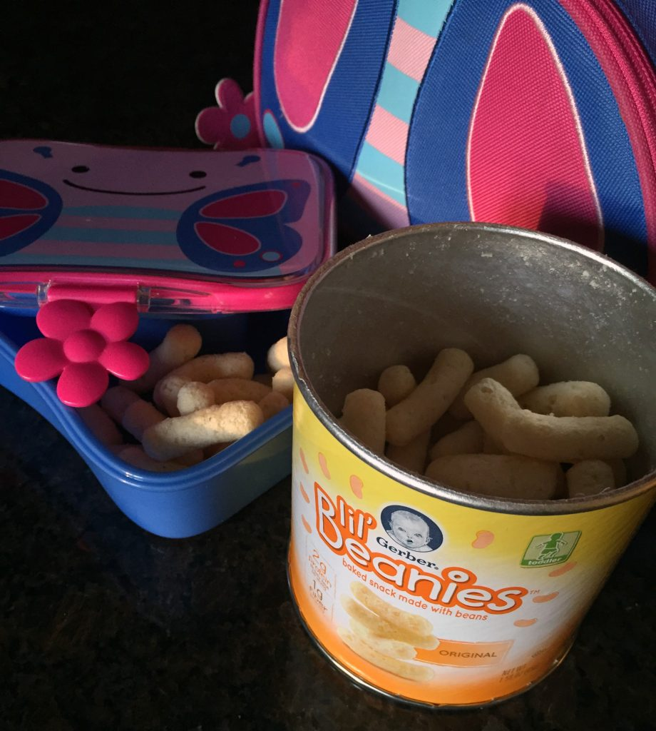 On-the-go snacks for toddlers: Gerber Lil Beanies