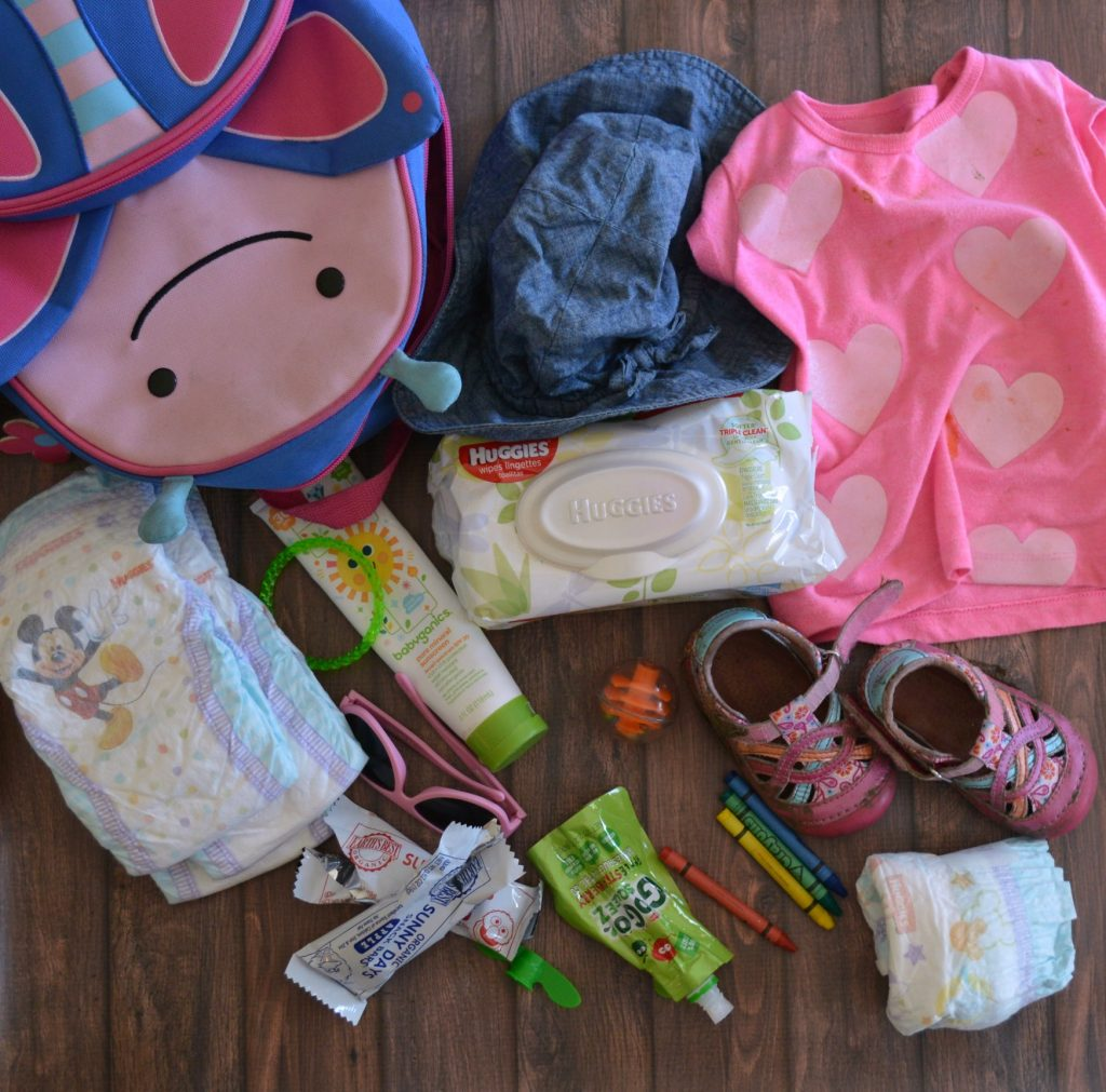 My Reset and Repack Diaper Bag Routine: Empty EVERYTHING! Messy Diaper Bags are TOO Heavy