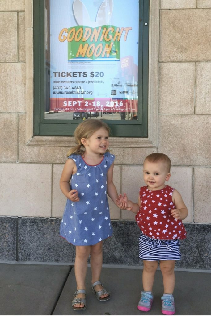 Preview performance of Goodnight Moon at The Rose Theater