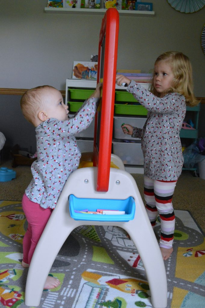 buybuy BABY two-sided easel