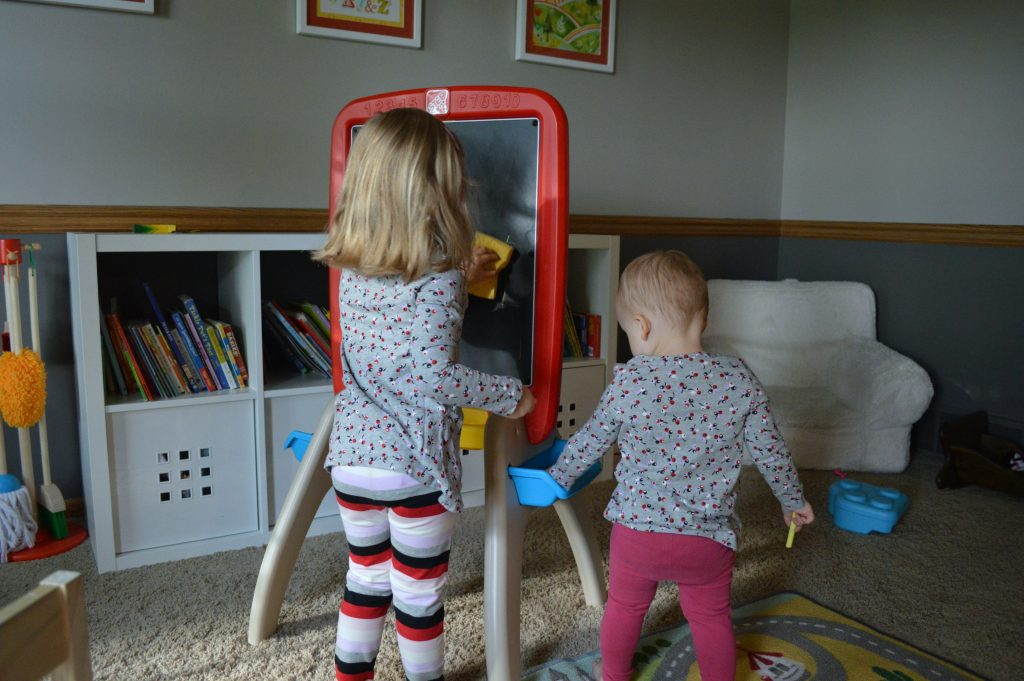 chalkbord easel from buybuy BABY