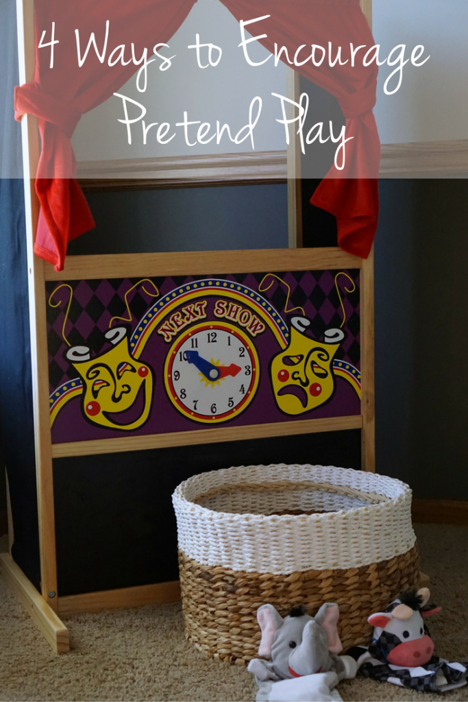 Four Ways to Encourage Pretend Play at Home with your Kids