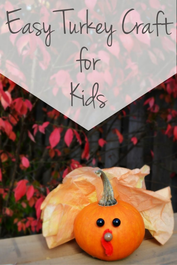 Easy Turkey Craft to Do with your Kids