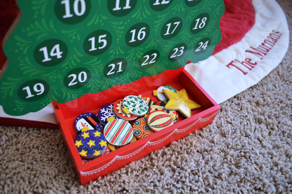 Building holiday traditions with kids using an advent calendar