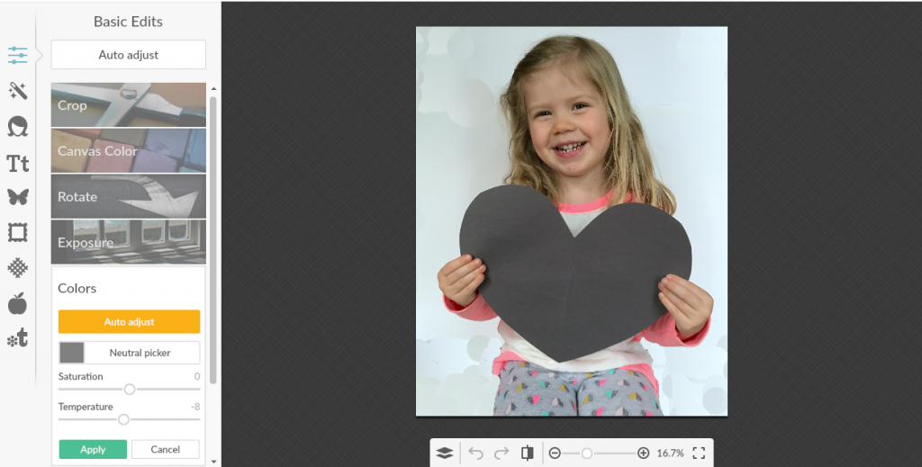 Mother's Day Personalized Photo Craft Step 2