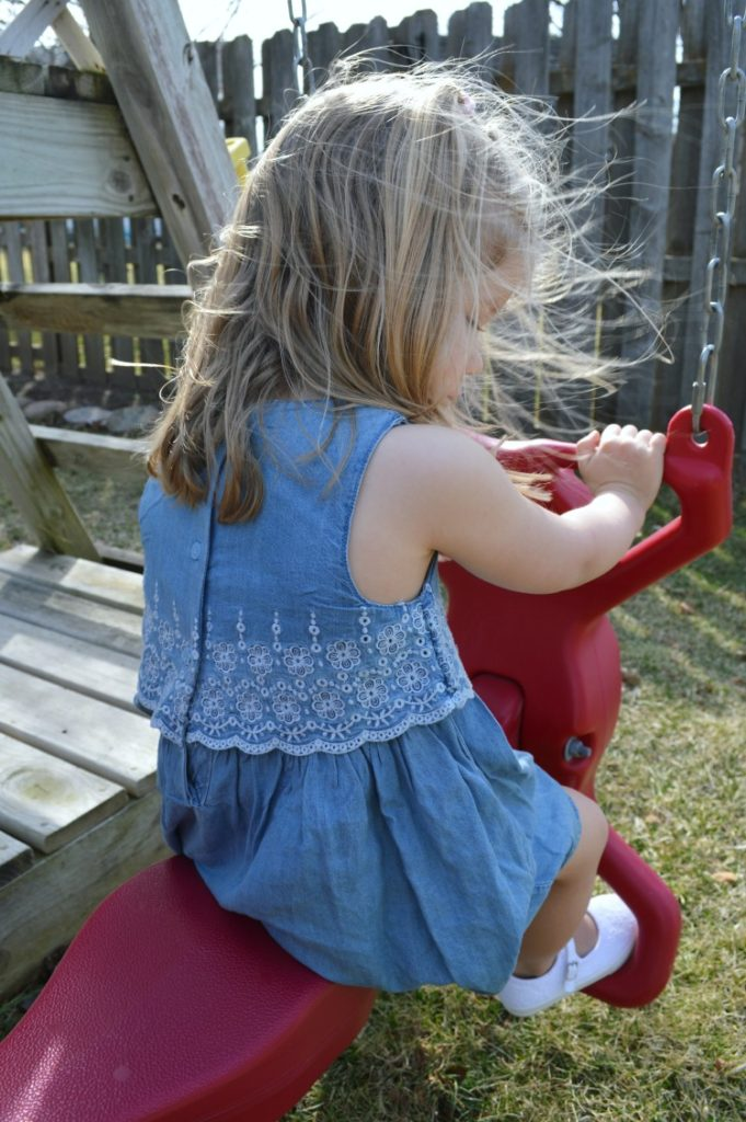 Cute spring dress from OshKosh B'gosh
