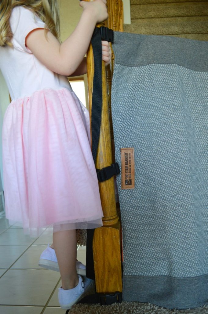 Why we Love the Stair Barrier (rather than traditional baby gates)