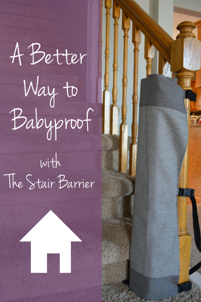 A Better Way to Babyproof with The Stair Barrier