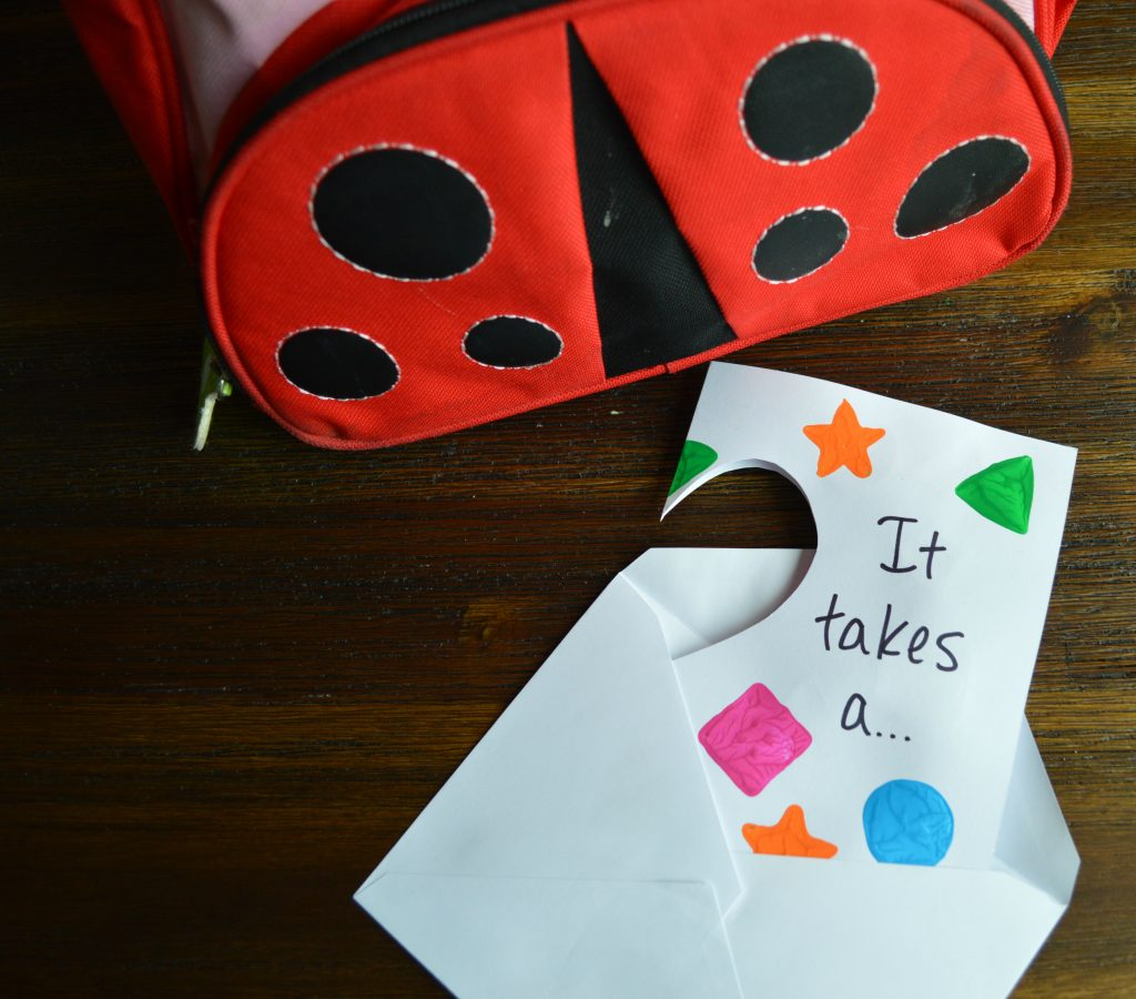 "Easy DIY Preschool Teacher Appreciation Card: ""It takes a big heart to shape little minds"""