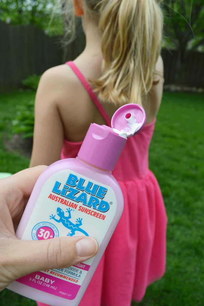 Start your outdoor activities this summer with Blue Lizard sunscreen