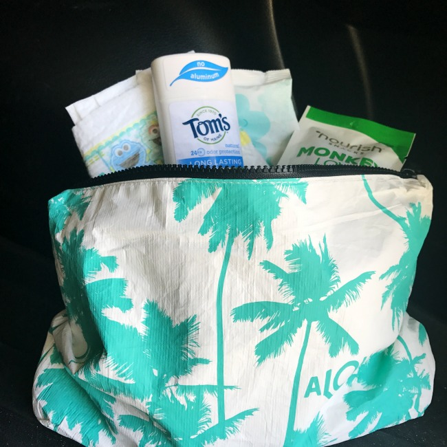 Make summer break no sweat with a car kit including Tom's of Maine deodorant
