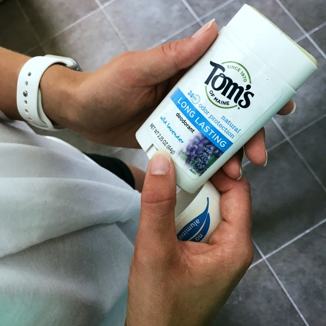 Make summer break no sweat by starting your day with Tom's of Maine deodorant