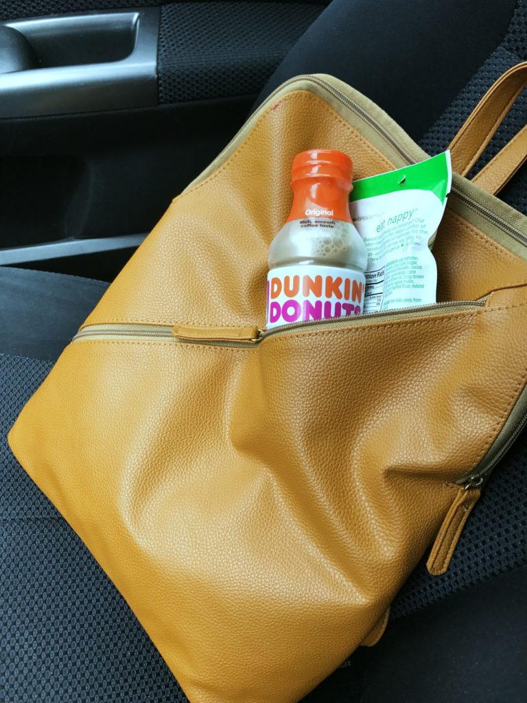 Managing mom/work schedule with help from Dunkin Donuts coffee